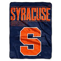 Syracuse Orange Super Plush Reversible Throw Blanket