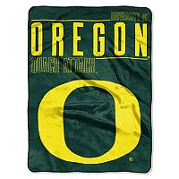 Oregon Ducks Super Plush Reversible Throw Blanket
