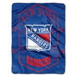 New York Rangers Silk-Touch Throw Blanket
