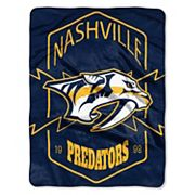 Nashville Predators Silk-Touch Throw Blanket