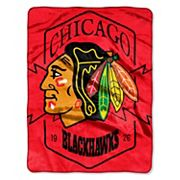 Chicago Blackhawks Silk-Touch Throw Blanket
