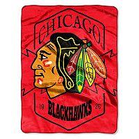 Chicago Blackhawks Silk-Touch Throw Blanket