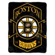 Boston Bruins Silk-Touch Throw Blanket
