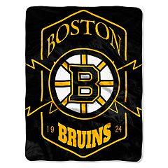 Boston Bruins Silk-Touch Throw Blanket