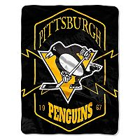 Pittsburgh Penguins Silk-Touch Throw Blanket