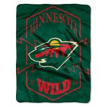 Minnesota Wild Silk-Touch Throw Blanket