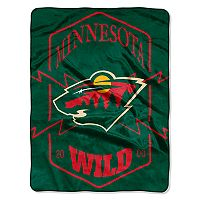Minnesota Wild Silk-Touch Throw Blanket