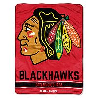 Chicago Blackhawks Micro Raschel Throw Blanket