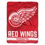 Detroit Red Wings Micro Raschel Throw Blanket