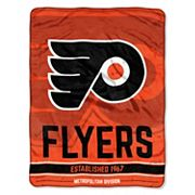 Philadelphia Flyers Micro Raschel Throw Blanket