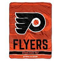 Philadelphia Flyers Micro Raschel Throw Blanket