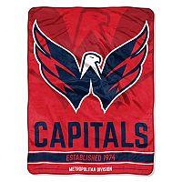 Washington Capitals Micro Raschel Throw Blanket
