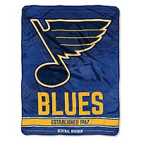 St. Louis Blues Micro Raschel Throw Blanket