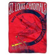 St. Louis Cardinals Silk-Touch Throw Blanket