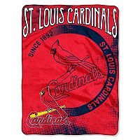St. Louis Cardinals Silk-Touch Throw Blanket