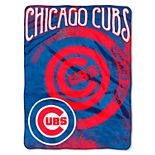 Chicago Cubs Silk-Touch Throw Blanket