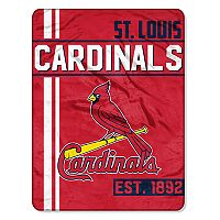 St. Louis Cardinals Micro Raschel Throw Blanket