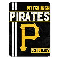 Pittsburgh Pirates Micro Raschel Throw Blanket