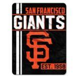 San Francisco Giants Micro Raschel Throw Blanket