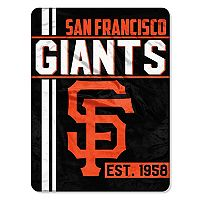 San Francisco Giants Micro Raschel Throw Blanket