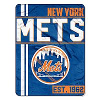 New York Mets Micro Raschel Throw Blanket