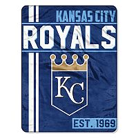 Kansas City Royals Micro Raschel Throw Blanket