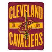 Cleveland Cavaliers Micro Raschel Throw Blanket