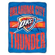 Oklahoma City Thunder Micro Raschel Throw Blanket