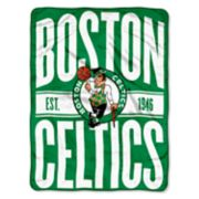 Boston Celtics Micro Raschel Throw Blanket