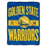 Golden State Warriors Micro Raschel Throw Blanket