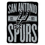 San Antonio Spurs Micro Raschel Throw Blanket
