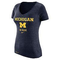 Women's Nike Michigan Wolverines Franchise Tee