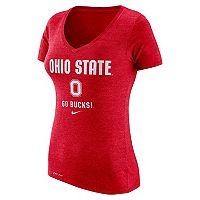 Women's Nike Ohio State Buckeyes Franchise Tee