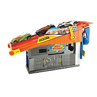 Hot Wheels Rooftop Race Garage Playset