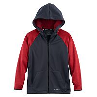 Boys 8-20 Tek Gear® Space-Dyed Performance Fleece Hoodie