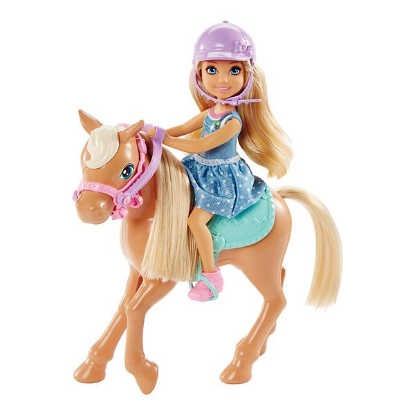 Barbie Club Chelsea Doll Horse Set