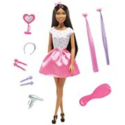 Barbie® Doll with Hair Accessories