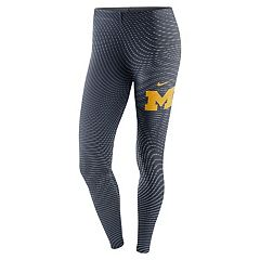 Women's Nike Michigan Wolverines Legacy Running Tights