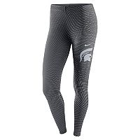 Women's Nike Michigan State Spartans Legacy Running Tights