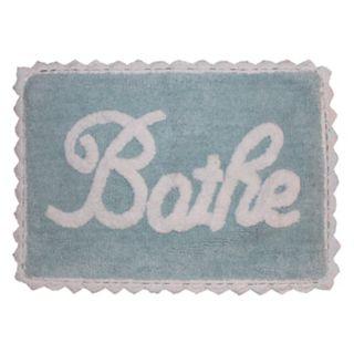 """Park B. Smith Metro Farmhouse """"Bathe"""" Bath Rug"""