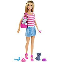 Barbie® Doll & Pet Set