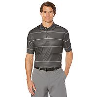 Men's Grand Slam Classic-Fit Striped Motionflow Performance Polo