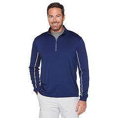 Men's Grand Slam MotionFlow 360 Regular-Fit Water-Repellent Quarter-Zip Pullover