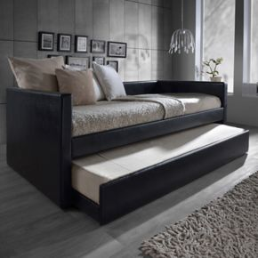 Baxton Studio Risom Upholstered Daybed & Trundle