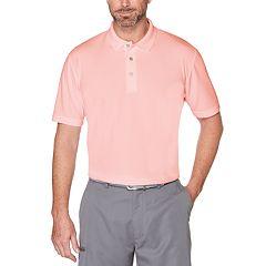 Men's Grand Slam Off Course Textured Golf Polo