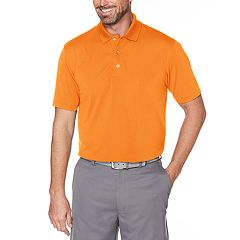 Men's Grand Slam Off Course Textured Golf Polo