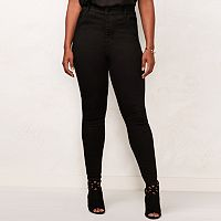 Plus Size LC Lauren Conrad High-Waist Jeggings