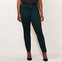Plus Size LC Lauren Conrad Color Skinny Jeans