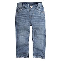 Baby Girl Levi's Ribbed Waistband Skinny Jeans