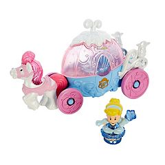Disney Princess Cinderella's Lights & Sounds Carriage by Little People